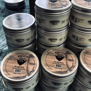 Cire à barbe (beard wax) 💯 % naturelle ... Monsieur Brown Usa beard care with the French flair TM.  Produits pour la barbe et cheveux Www.Mrbrown.fr  #modehomme #coiffure #coiffurehomme #barbershop #salon #hipster #hipsterstyle #beard  #barbe #barber💈 #barberia #barbershopconnet #barbestyle #barbeshop #barbeshopp #barbesinctv #barbeshopconect #barbes #tatouage #tatouagehomme #tattoo #hipsterbeard #barberposts #hypster #hypsterstyle #hypsters #tattoomodel