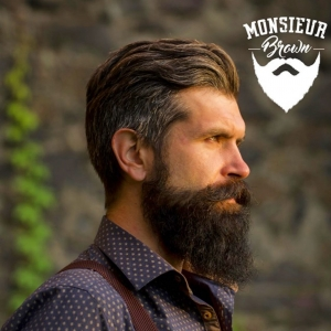 Happy morning... démarquez-vous  Monsieur Brown Usa beard care with the French flair TM. Produits pour la barbe et cheveux Www.Mrbrown.fr  #modehomme #coiffure #coiffurehomme #barbershop #salon #hipster #hipsterstyle #beard #barbe #barber💈 #barberia #barbershopconnet #barbestyle #barbeshop #barbeshopp #barbesinctv #barbeshopconect #barbes #tatouage #tatouagehomme #tattoo #hipsterbeard #barberposts #hypster #hypsterstyle #hypsters #tattoomodel